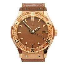 Hublot Rose gold Automatic Brown 45mm new Classic Fusion 45, 42, 38, 33 mm