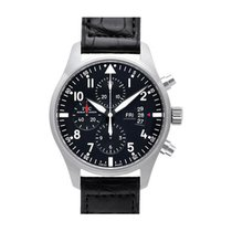 IWC IW377701 Steel Pilot Chronograph 43mm new