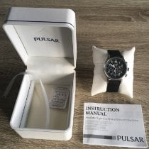 Pulsar Steel 40mm Quartz 370279 new