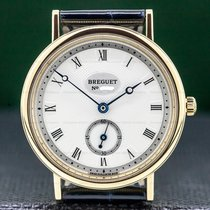 Breguet Classique Yellow gold 34mm Silver United States of America, Massachusetts, Boston
