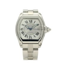 Cartier Roadster Steel 37mm Silver Roman numerals United Kingdom, Liverpool