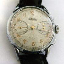 Angelus Steel 36mm Manual winding Angelus Vintage Chronograph Caliber 215 pre-owned