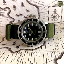Tudor Submariner Stål 40mm Svart Ingen tall