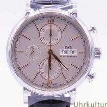 IWC Portofino Chronograph Stahl 42mm Silber Deutschland, Duisburg/München/Linz