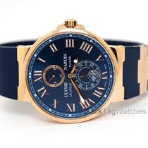 Ulysse Nardin Marine Chronometer 43mm 266-67-3/43 2014 подержанные