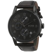 Hugo Boss Steel 44mm Quartz 1513497 new