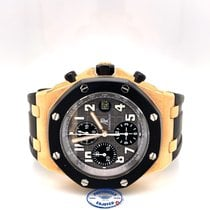 Audemars Piguet Royal Oak Offshore Chronograph occasion 42mm Noir Chronographe Date Caoutchouc