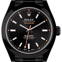 Rolex Milgauss (black, DLC) by Blaken