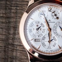 Jaeger-LeCoultre Master Eight Days Perpetual Oro rosado 42 mm (45 mm with crown)mm Plata Sin cifras