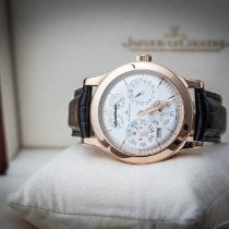 Jaeger-LeCoultre Master Eight Days Perpetual Aur roz 42 mm (45 mm with crown)mm Argint Fara cifre