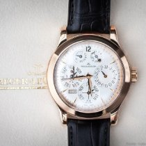 Jaeger-LeCoultre Master Eight Days Perpetual Oro rosa 42 mm (45 mm with crown)mm Plata Sin cifras