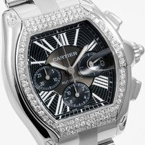 까르띠에 (Cartier) Steel 48mm XL Roadster Chrono - Custom VS...