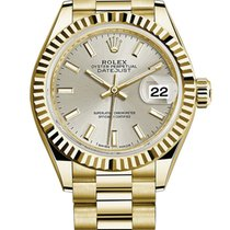 Rolex new Automatic 28mm Yellow gold