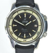 Enicar Steel 41mm Automatic 144.35.03 pre-owned