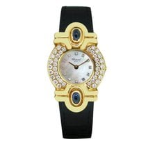 Chopard Yellow gold Quartz Mother of pearl 22mm pre-owned Classic