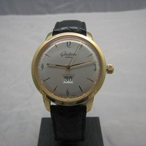 Glashütte Original Sixties Panorama Date 2-39-47-01-01-04 Glashutte Vintage Panorama Cinturino Nero new