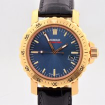 Kobold Soarway Diver 18k Red Gold Automatic Dive Watch Kd 242126