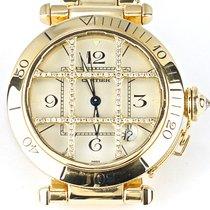 까르띠에 (Cartier) Pasha Yellow Gold 38mm Diamonds Grid, diamond ...