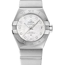 Omega Constellation Co-Axial Ladies Mother of Pearl Date