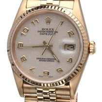 Rolex Oyster Datejust Jubilee Yellow Gold 36 mm (Full Set 1992)