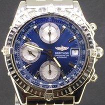 Breitling Chronomat 39MM Full Steel Blue Dial 2001 Full Set
