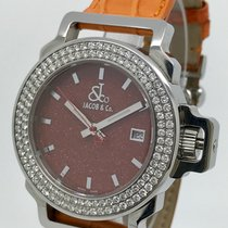 Jacob & Co. The Standard JC-S2G Factory Diamond Bezel Men's Watch