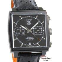 豪雅 Monaco Chronograph Caliber 12 Acm Limited Edition Black