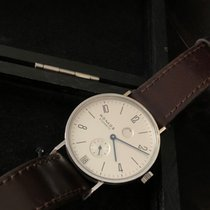 NOMOS Tangente Gangreserve Steel 35mm Arabic numerals United States of America, Texas, Dallas