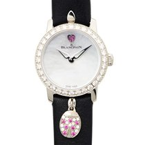 Blancpain Women White gold 21.5mm Silver