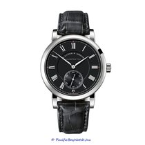 A. Lange & Söhne White gold Manual winding Black 41mm new Richard Lange