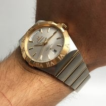 Omega Constellation Day-Date new Automatic Watch with original box 123.25.38.22.02.002
