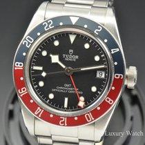 Tudor 2018 Mens Tudor Black Bay GMT Pepsi Steel Watch 79830RB