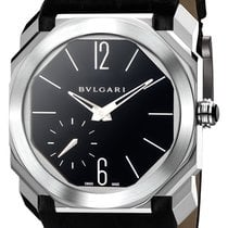 Bulgari Platinum Manual winding new Octo