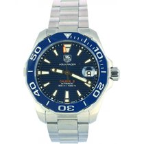 TAG Heuer WAY211C.BA0928 Steel Aquaracer 300M 41mm new