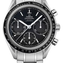 Omega Speedmaster Racing Steel 40mm Black United States of America, New York, Airmont