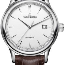Maurice Lacroix Stål 40mm Automatisk LC6098-SS001-130-2 ny