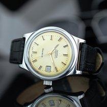 Omega Genève Steel 36mm Gold No numerals
