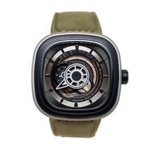 Sevenfriday P2-1 Steel 47,6mm Black No numerals
