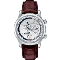 Jaeger-LeCoultre Master World Geographic Acero 42mm Plata