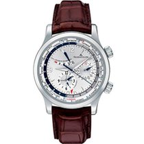 Jaeger-LeCoultre Master World Geographic Otel 42mm Argint