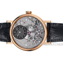 Breguet Rose gold Manual winding Transparent No numerals 37mm new Tradition