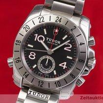 Tudor Sport Aeronaut pre-owned 40.5mm Black Date GMT Steel