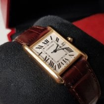 Cartier Tank Louis Cartier Or jaune 26mm Blanc