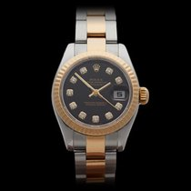 Rolex Datejust Stainless Steel & 18k Yellow Gold Ladies...