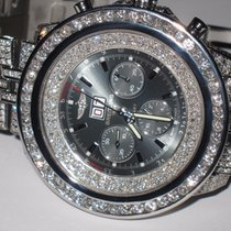 Breitling Bentley Big Date 6.75 Steel Automatic Diamonds