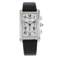 Cartier Tank W2609456  White Gold  Men's Watch (13936)