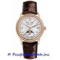 Blancpain Léman Moonphase Rose gold 34mm Mother of pearl Roman numerals United States of America, California, Newport Beach