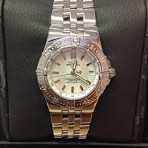 Breitling 30mm Quartz 2007 pre-owned Starliner Mother of pearl