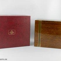Patek Philippe Holz Box Vintage  (Braun mit Goldstreifen ) mit...