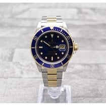Rolex Stainless Steel & Gold Rolex Oyster Perpetual Submariner